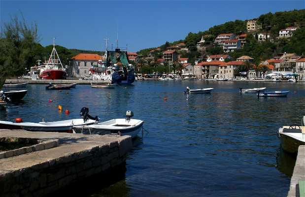 Jelsa sur l'île de Hvar