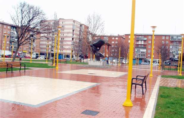 La Constitución square