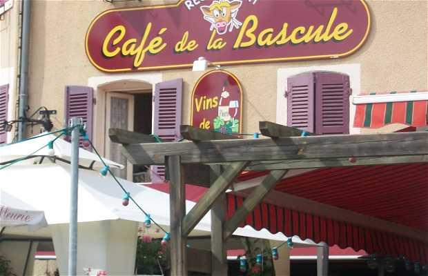 Le café de la bascule, Fleurie, Francia