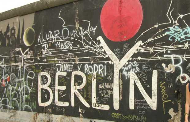 Graffitis em Berlim