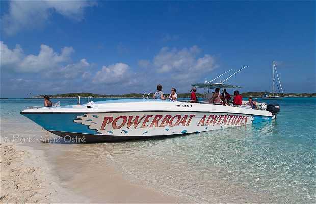 Powerboat Adventures, Exumas
