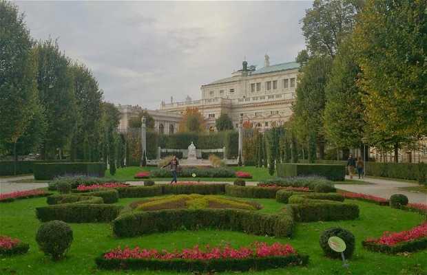 Les jardins du palais Hofburg