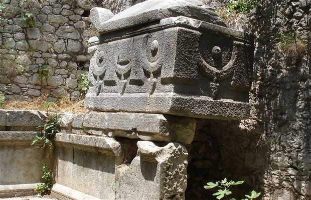 Ruinas licias de Olympus, Antalya