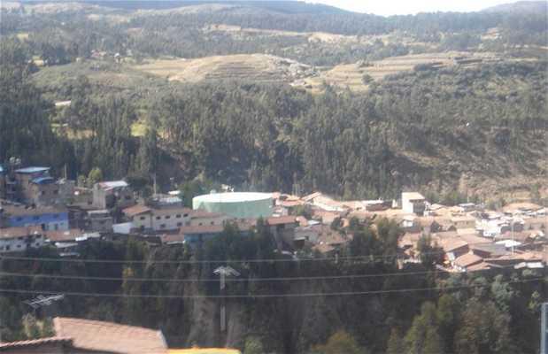 Mirador desde las alturas de Cuzco