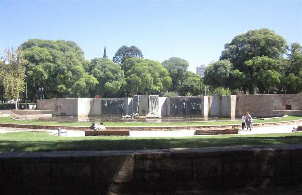 Fuente Plaza Independencia