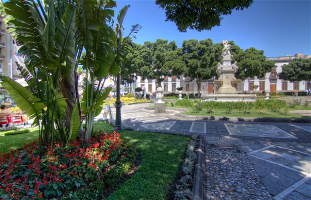 Piazza Weyler a Santa Cruz de Tenerife