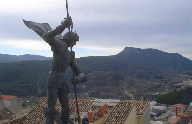 Scultura di San Jordi a Alicante