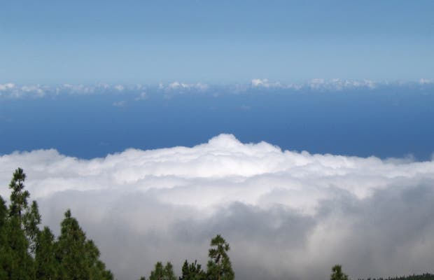 Sea of clouds of Teide