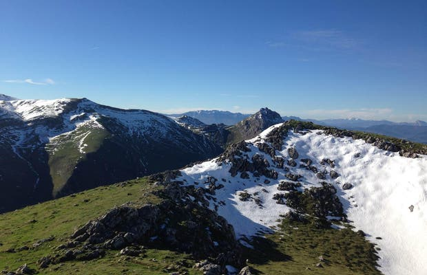 Monte Balerdi en Aralar