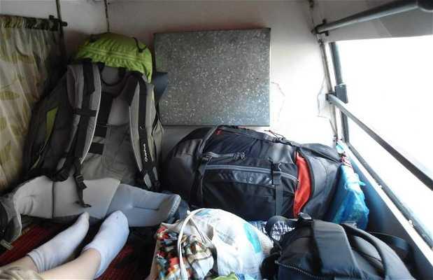 Le Sleeper Bus en Inde