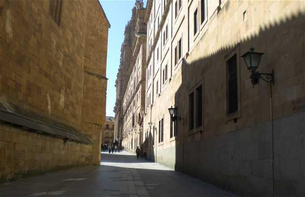 Calle Compañía a Salamanca