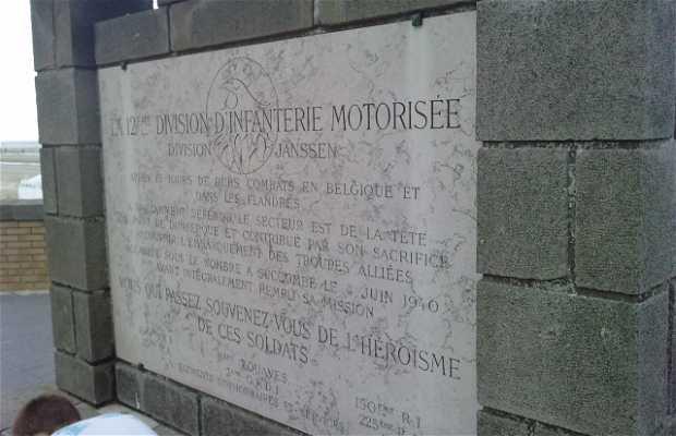Monument à l'infanterie motorisée