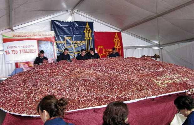 "Feria Gastronómica Cultural ""Saborea Cumbres Mayores"""
