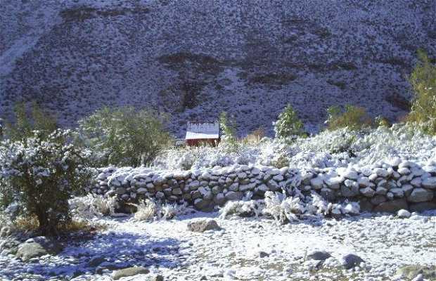 Valle de Elqui Alcohuaz Cabañita Ecologica en la Cordillera