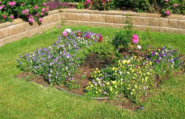 Il giardino di rose Centennial a Anchorage