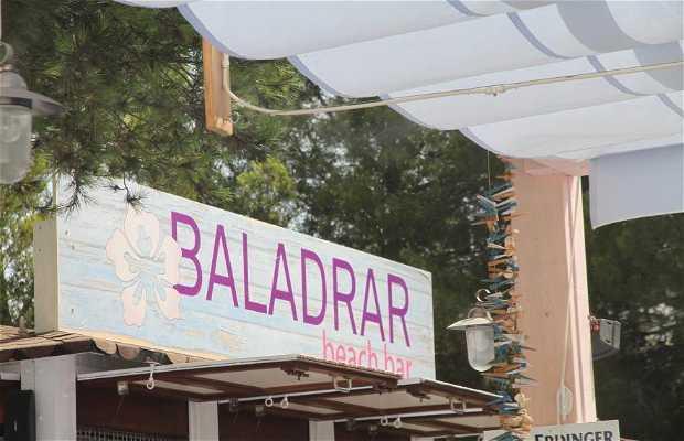 Baladrar beach bar