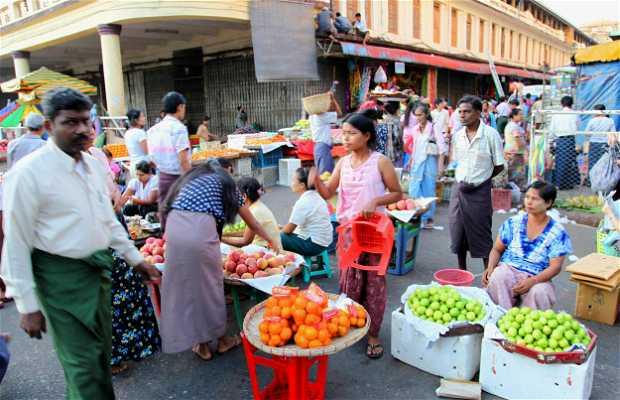Mercado de Thein Gyee Zai