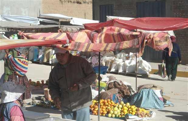 Mercado de Capachica