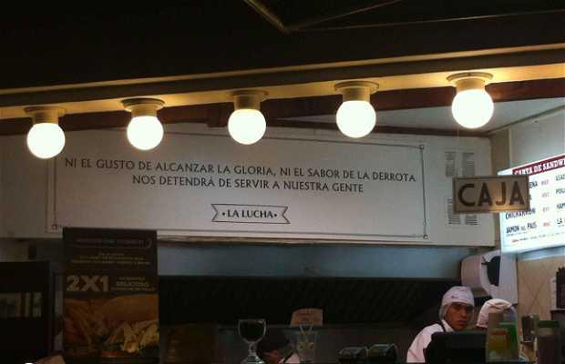 La Lucha Sándwich y Café Pasado
