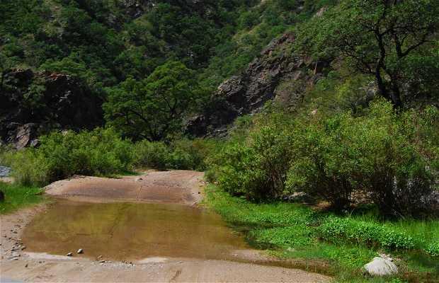 Camino Cuchi Corral - Río Pintos