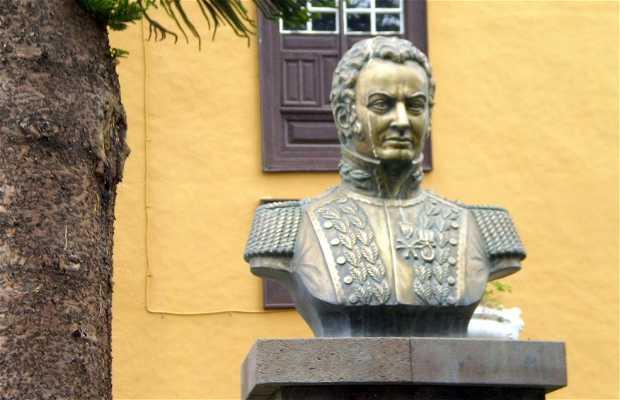 Monumento al generale Paez a Tenerife