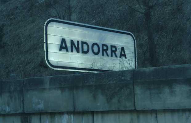 Frontera entre España - Andorra