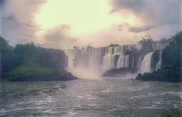 Baño de bruma en Iguazú