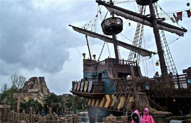 Barco pirata - Disneyland Shanghai
