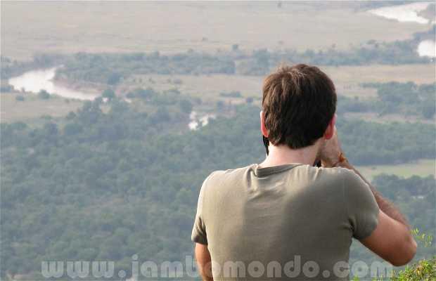 Povoados Masais no Masai Mara