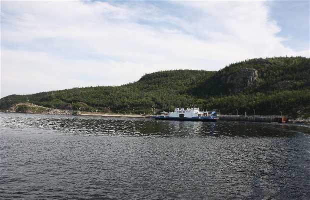 Transbordador del rio Saguenay