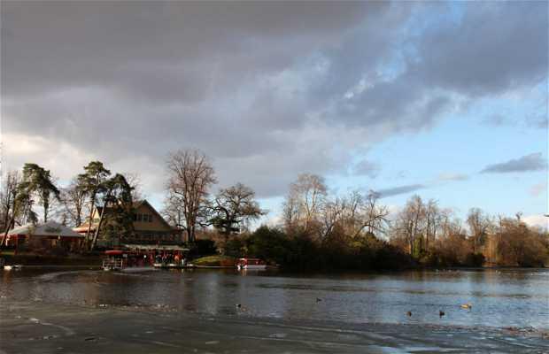 Lago inferior del Bosque de Boulogne