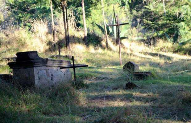 Camposanto sepultado por el alud de lodo