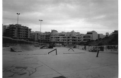 Skatepark El Médano.