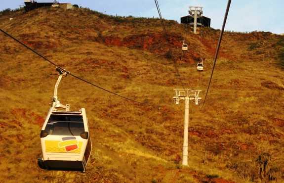 Teleférico en el Parque Nacional Del Chicamocha