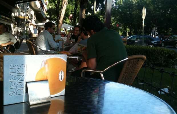 Haagen-Dazs Cafe