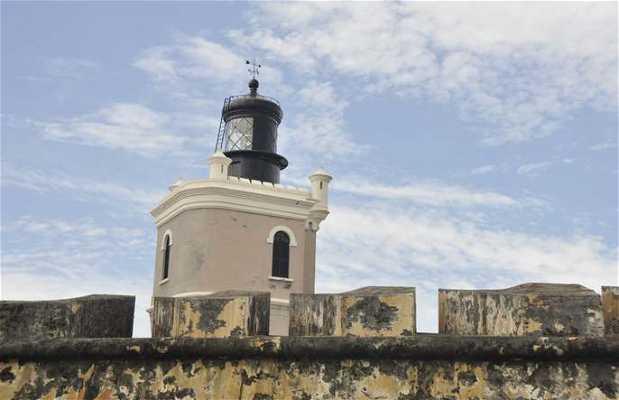 Faro del fuerte de San Felipe del Morro