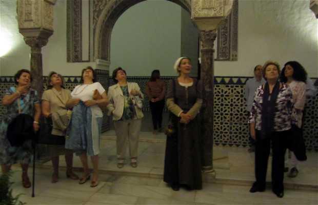 Dramatización en el Real Alcázar