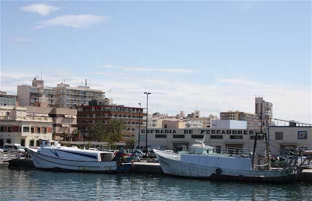 Port de pêche de Santa Pola