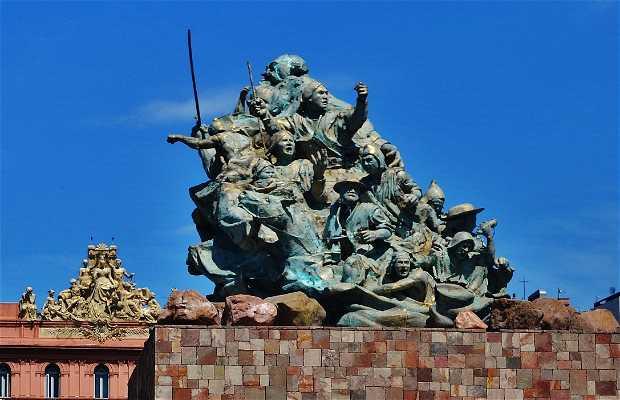 Monumento a Juana Azurduy