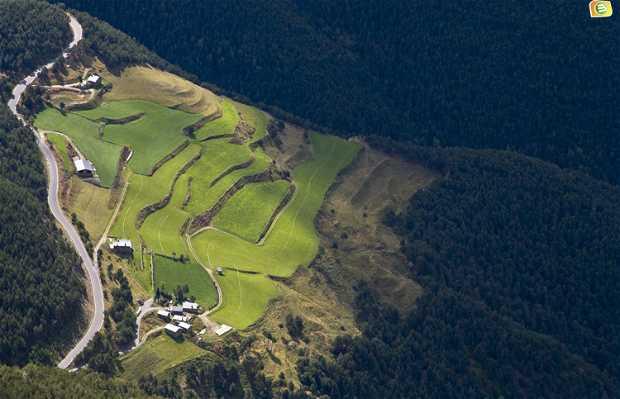 Survol de l'Andorre
