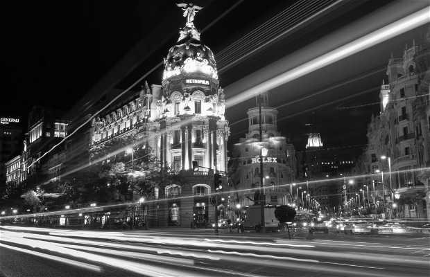 La Gran Vía de Madrid