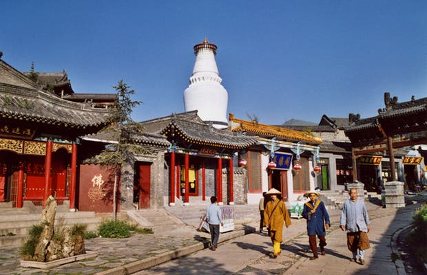 Taihuai et le Wutaisshan