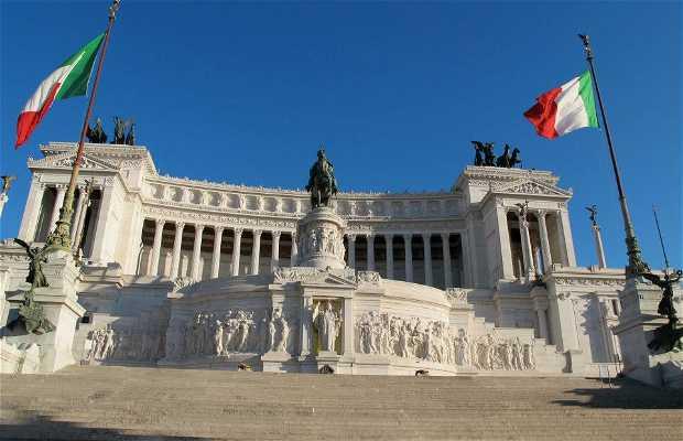 Monumento a Vittorio Emanuele II o Vittoriano o Altare della Patria