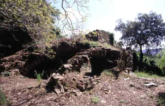 Ruinas del convento de los ángeles