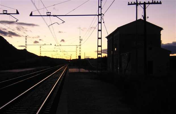 Agost FFCC Station