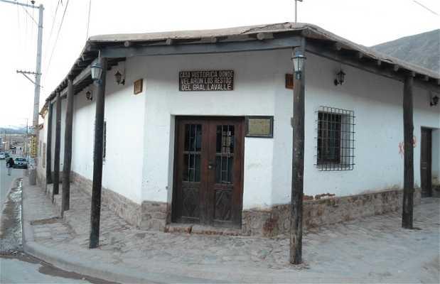 Casa historica Gral Lavalle