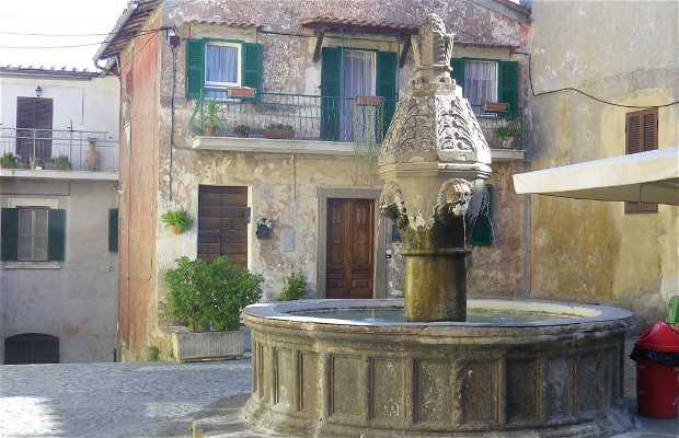 Fontana di piazza Cavour