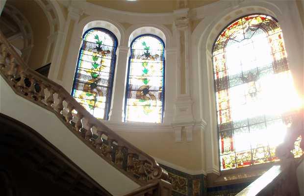 Interior de la Facultad de Derecho