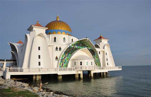 Mezquita Masjid Selat Melaka