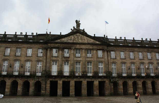 Palazzo di Raxoi a Santiago di Compostela